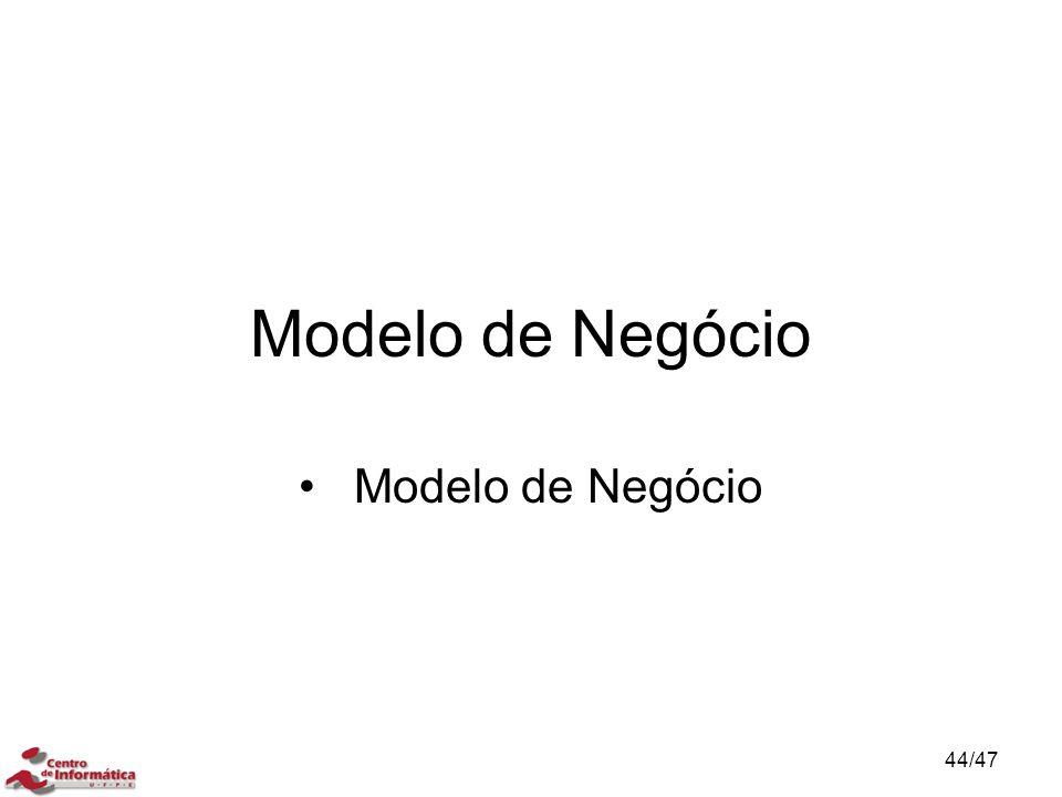 Modelo de Negócio 44/47
