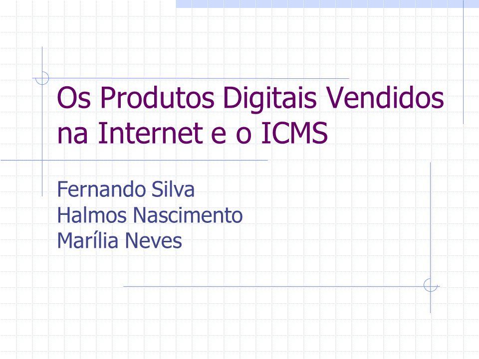 Conclusões Sobre a venda de software não deve incidir ICMS com a definição atual de mercadoria Sobre a venda de software de prateleira o STF já decidiu pela incidência do ICMS A decisão acima já implica pela não incidência de produtos digitais pela internet Vários países e a OCDE seguem este raciocínio