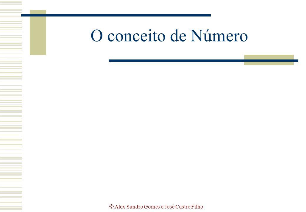 © Alex Sandro Gomes e José Castro Filho O conceito de Número
