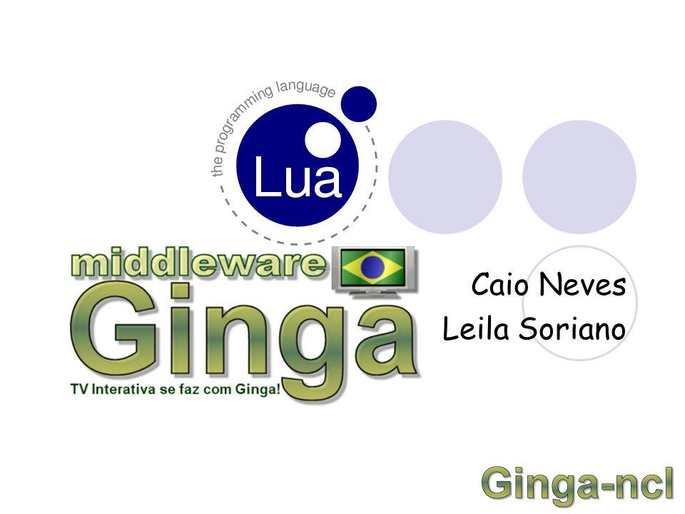 Agenda O que é Ginga? SBTVD News NCL API NCLua Exemplos