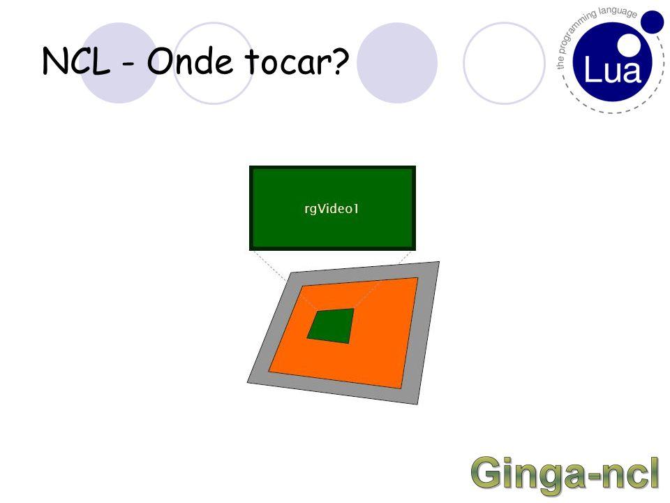 NCL – Onde tocar? As dimensões podem ser definidas por unidades de pixel ou por porcentagem.