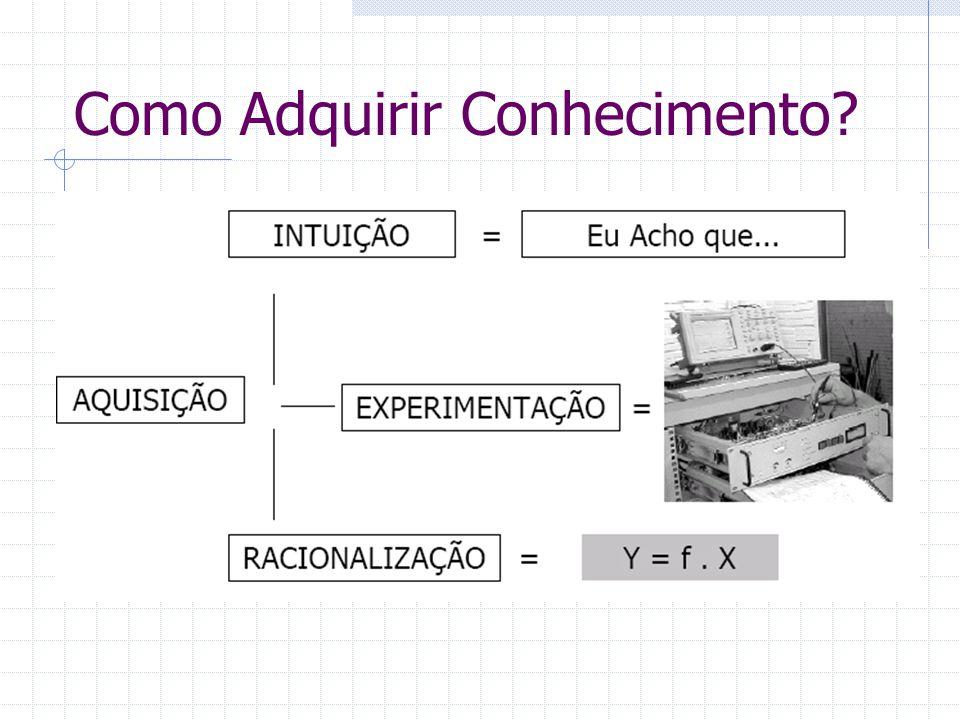 Conhecimento Científico x Conhecimento Técnico