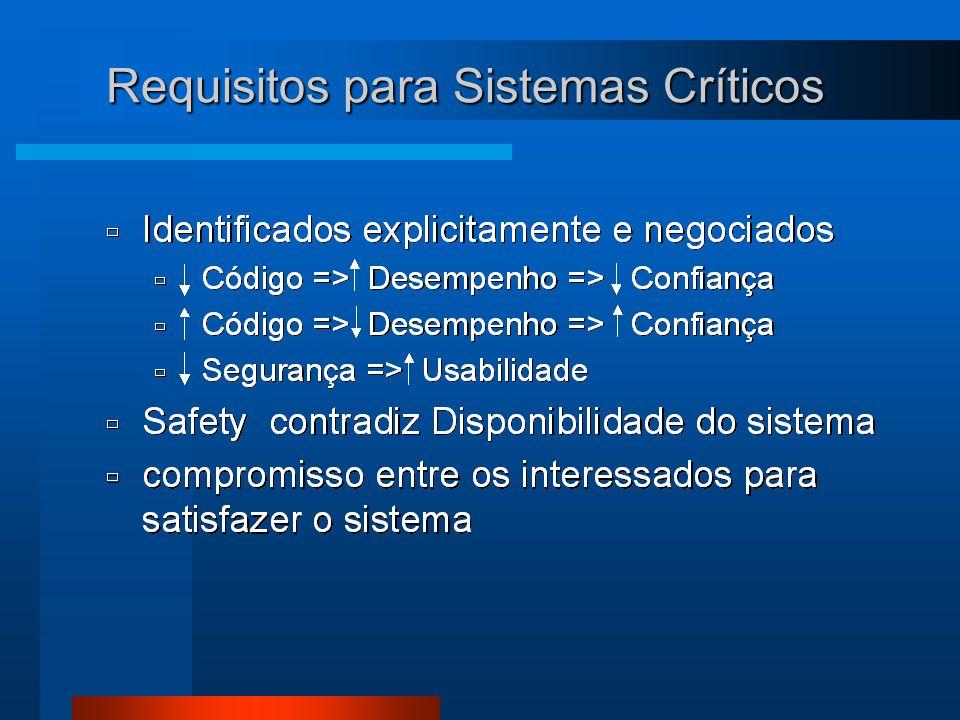 Requisitos para Sistemas Críticos