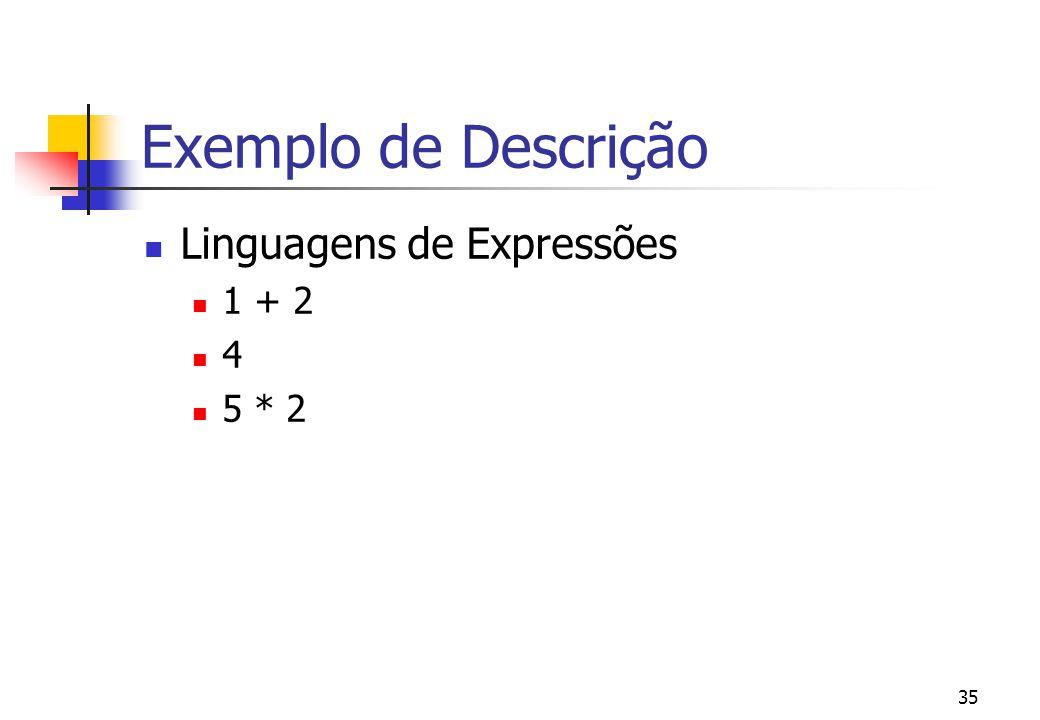 34 Exemplos de Ações(cont.) | | give 1 | and then | | give 2 then | give product(the given integer#1, | the given integer # 2)