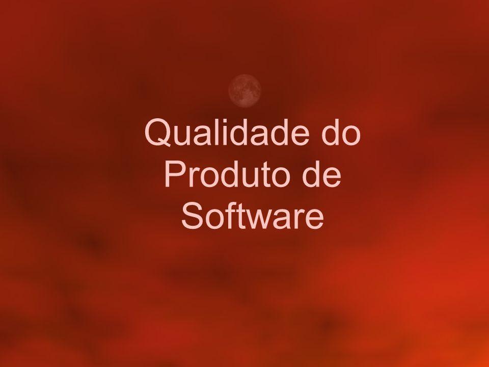 Qualidade do Produto de Software
