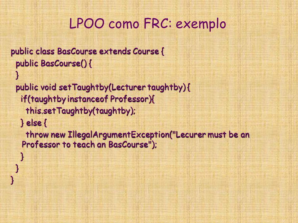 Lógicas descritivas: princípios  Usar lógica para definir formalmente semântica de formalismos de representação de conhecimento OO.