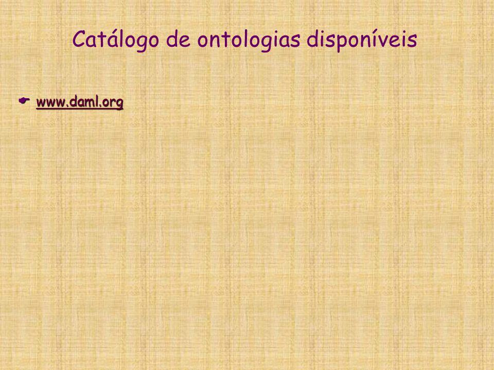 Problemática geral e questões sobre ontologias  Divisão:  como delimito as classes e os atributos.