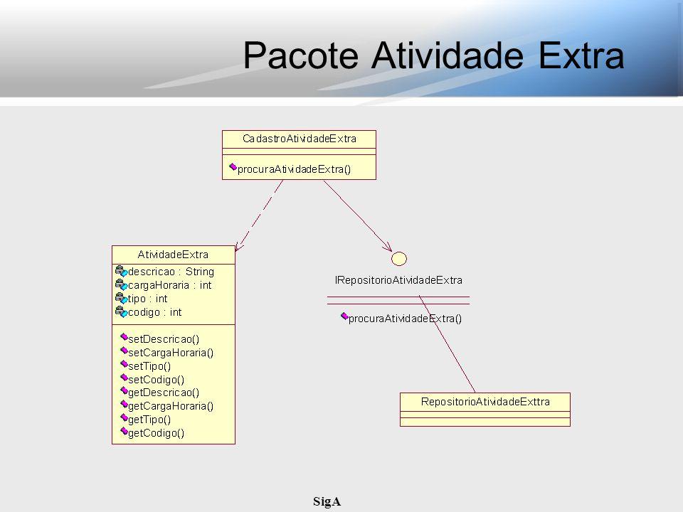 SigA Pacote Atividade Extra
