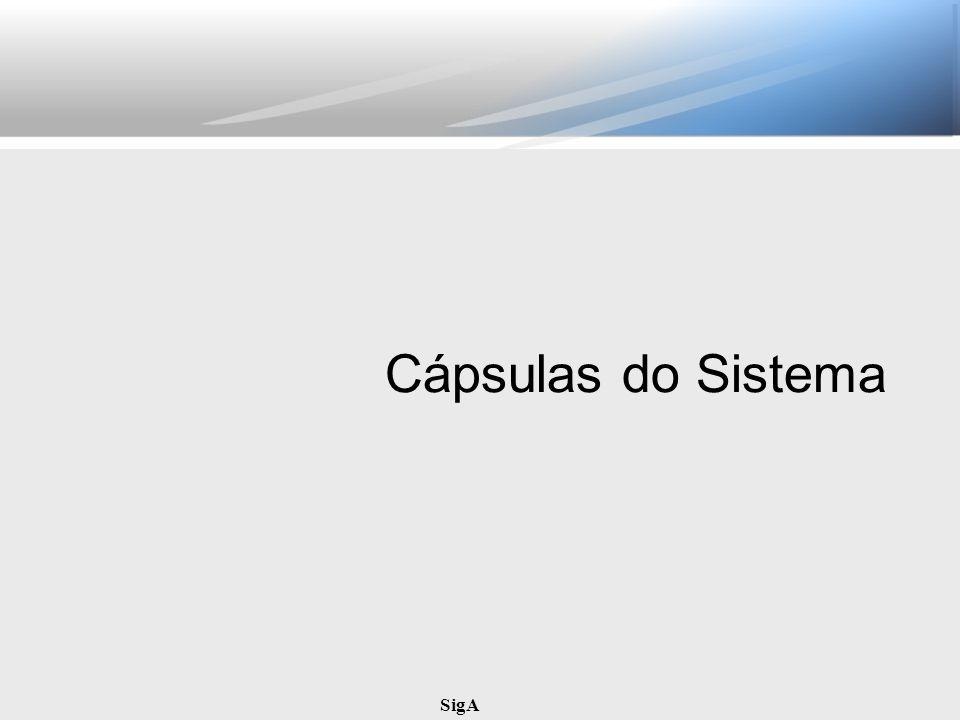 SigA Cápsulas do Sistema
