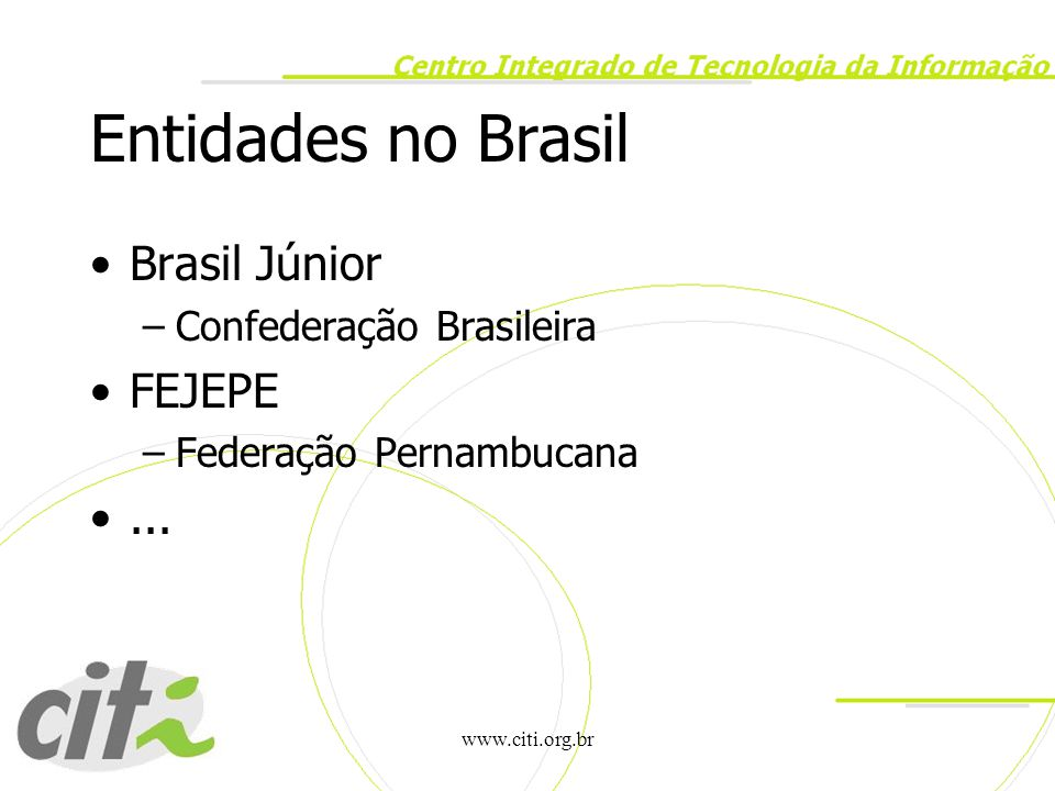 www.citi.org.br Boa Viagem!!!