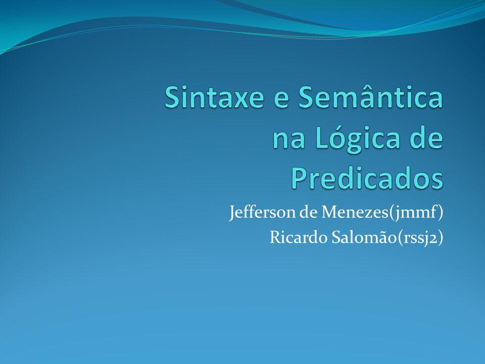 Jefferson de Menezes(jmmf) Ricardo Salomão(rssj2)