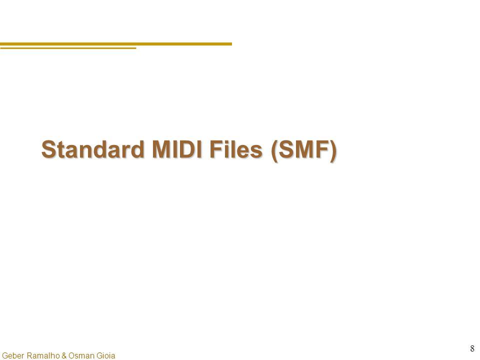 Geber Ramalho & Osman Gioia 8 Standard MIDI Files (SMF)
