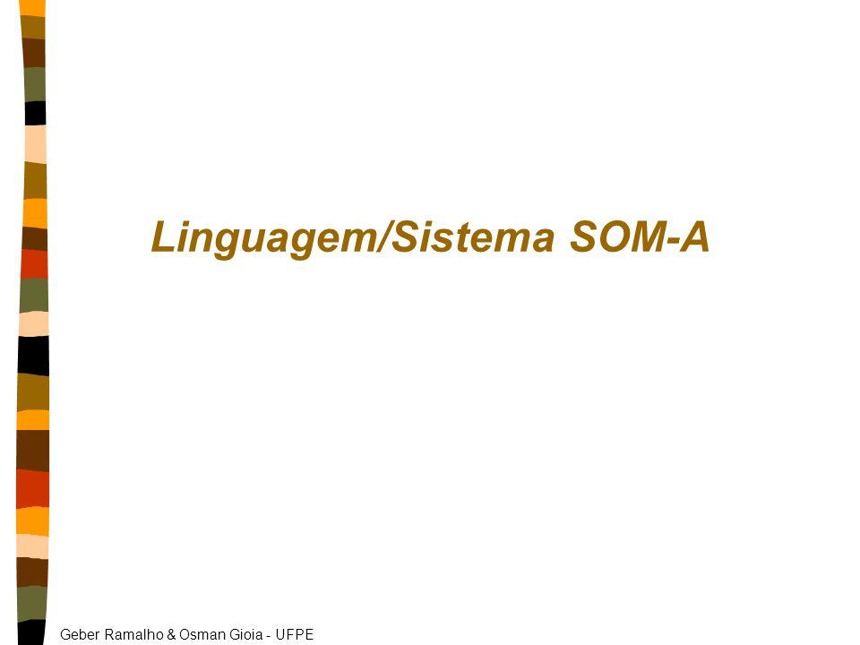 Geber Ramalho & Osman Gioia - UFPE Linguagem/Sistema SOM-A