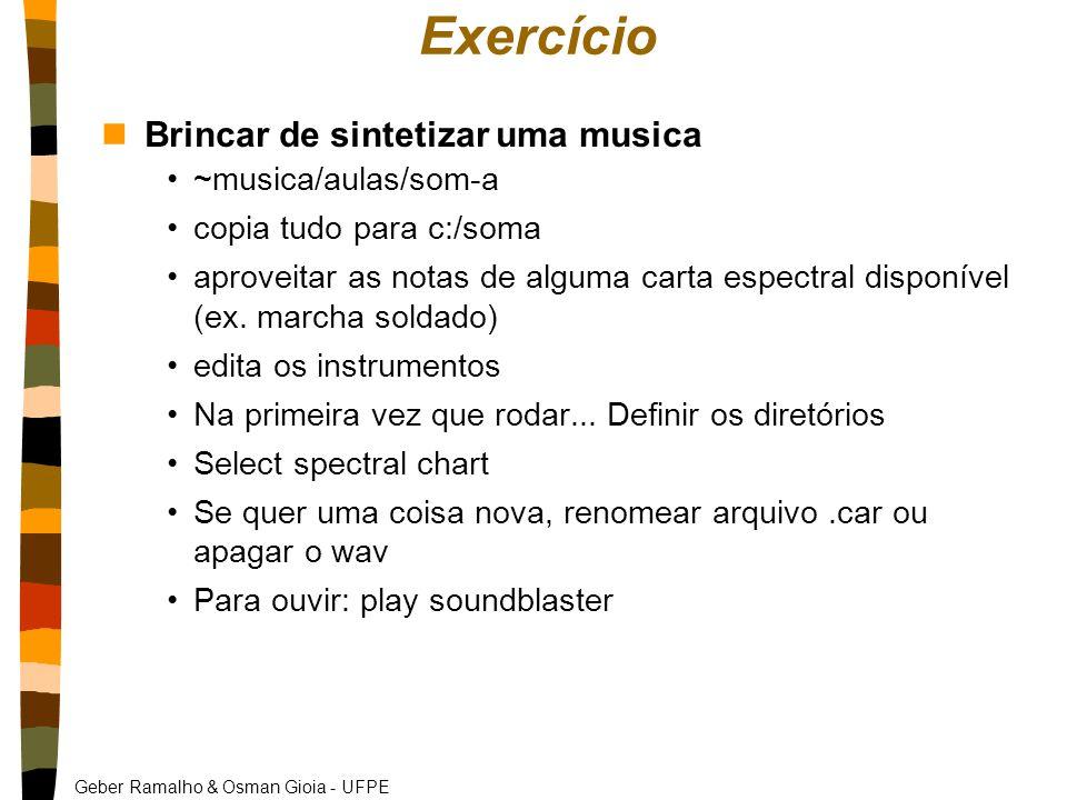 Geber Ramalho & Osman Gioia - UFPE Exercício nBrincar de sintetizar uma musica ~musica/aulas/som-a copia tudo para c:/soma aproveitar as notas de alguma carta espectral disponível (ex.