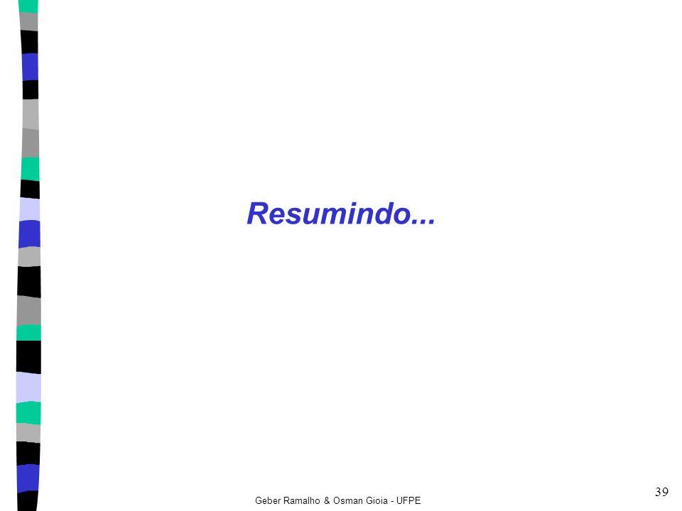 Geber Ramalho & Osman Gioia - UFPE 39 Resumindo...