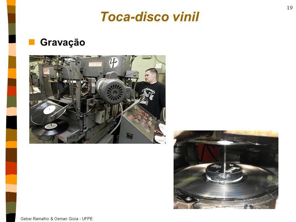 Geber Ramalho & Osman Gioia - UFPE Toca-disco vinil nGravação 19