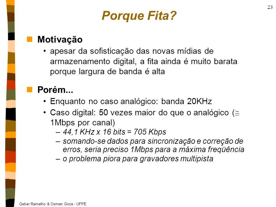 Geber Ramalho & Osman Gioia - UFPE 23 Porque Fita.