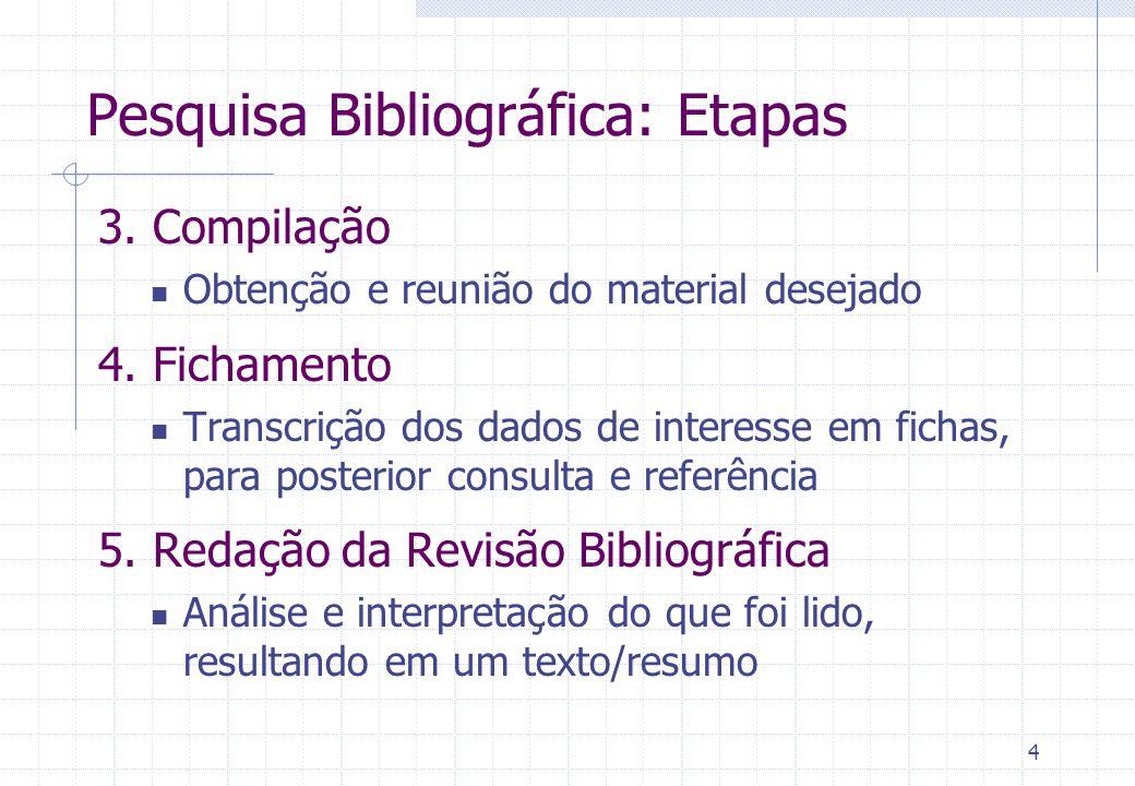 5 O que é Fichamento.