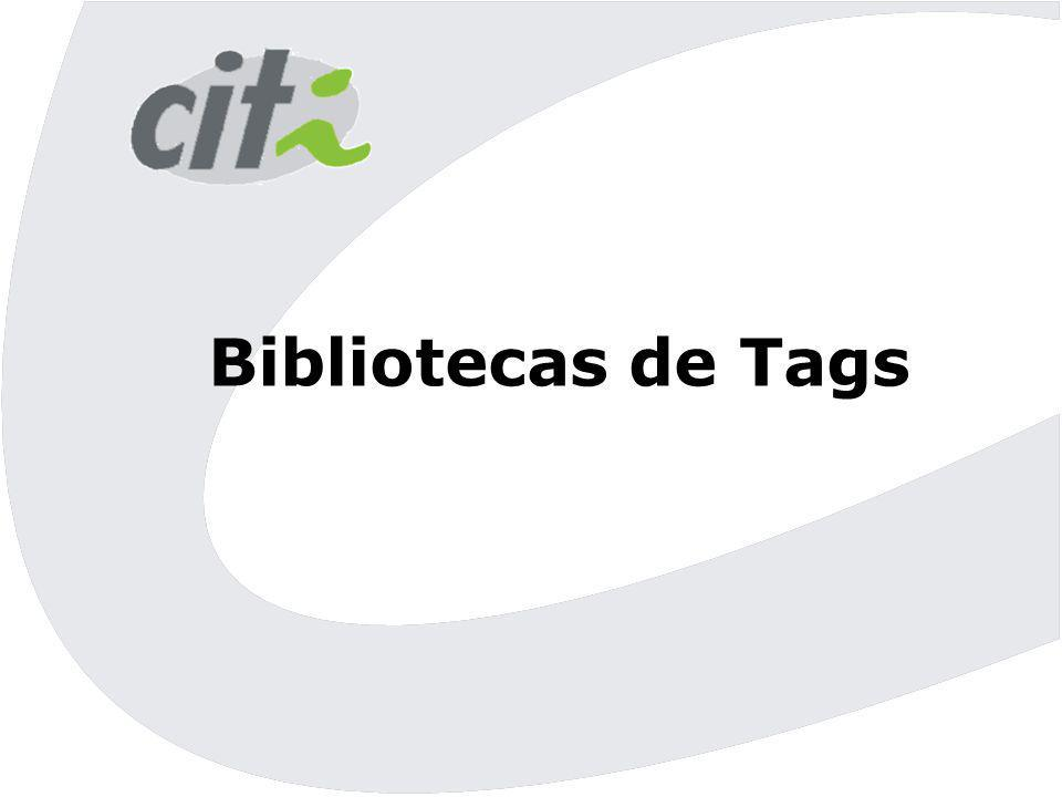 Bibliotecas de Tags