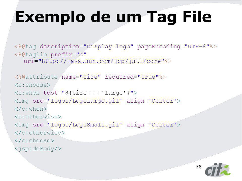 78 Exemplo de um Tag File