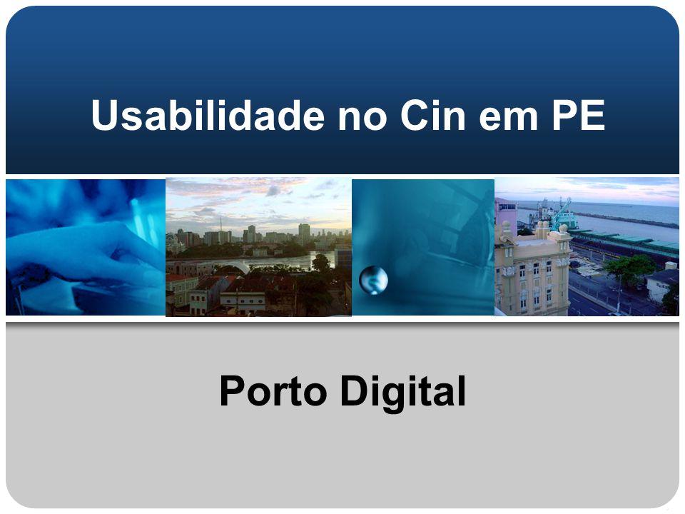 Usabilidade no Cin em PE Porto Digital