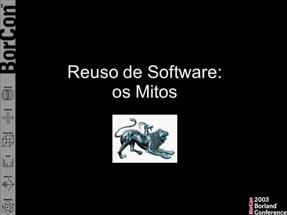 Reuso de Software: os Mitos