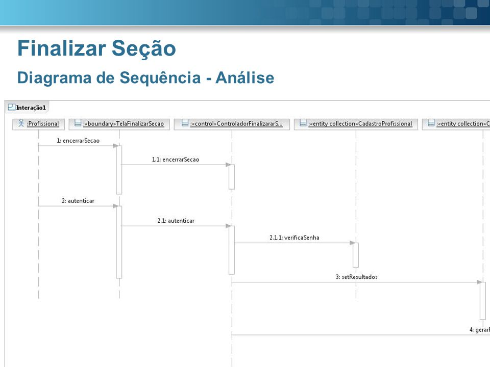 Finalizar Seção Diagrama de Sequência - Análise Lexis  Page 10