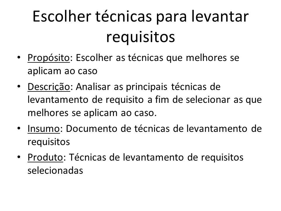 Analisar Requisitos Analisar os Requisitos Visando Equilíbrio Propósito: Analisar os requisitos para equilibrar as necessidades e as restrições dos stakeholders.