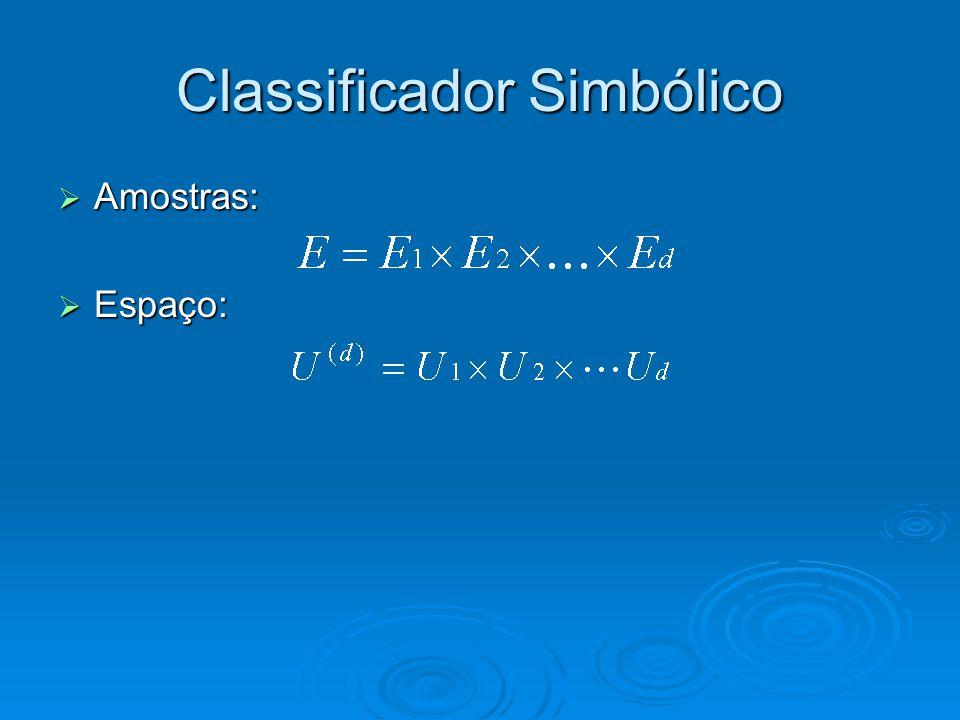 Classificador Simbólico  Join: