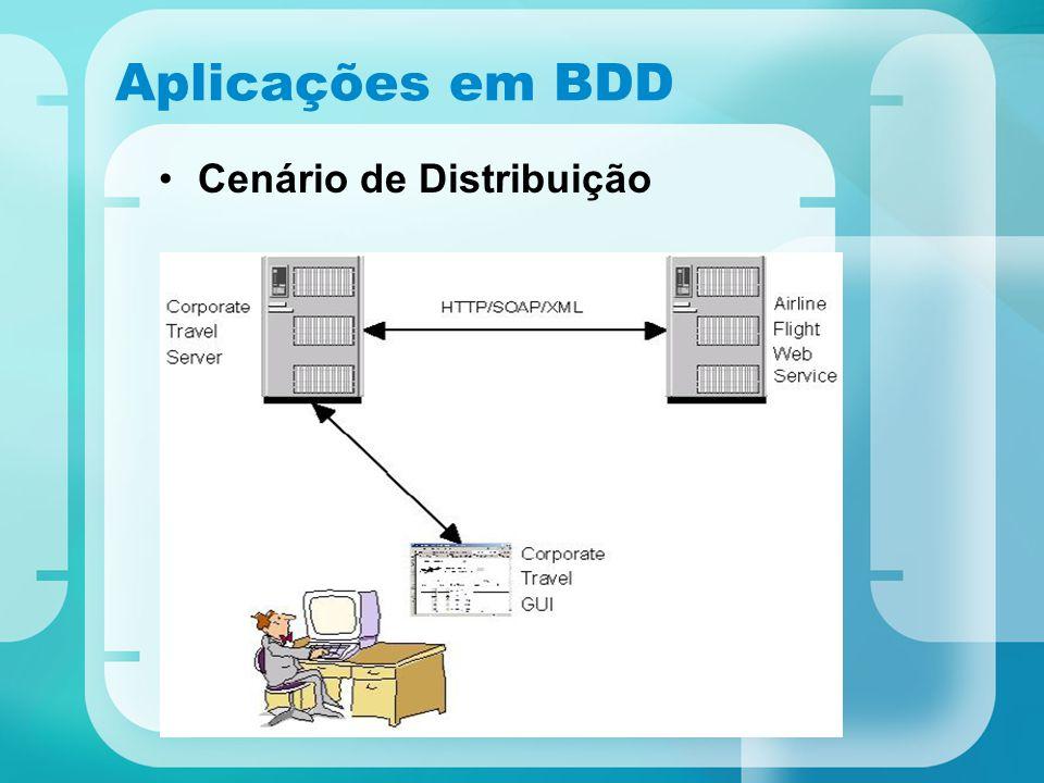 Aplicações em BDD Cenário de Distribuição ?