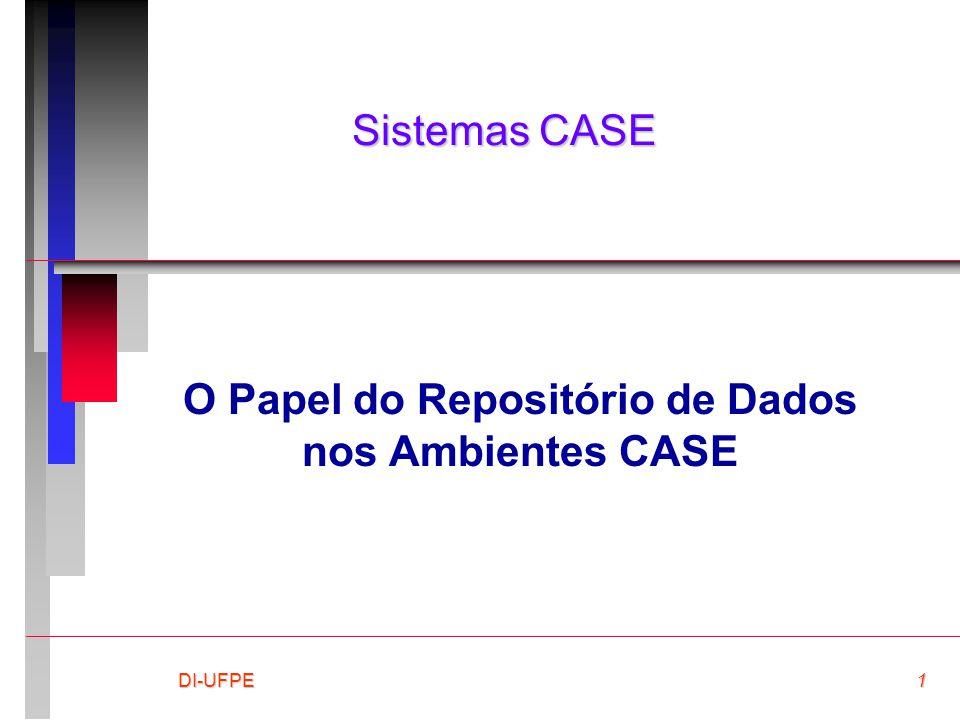 DI-UFPE1 Sistemas CASE O Papel do Repositório de Dados nos Ambientes CASE
