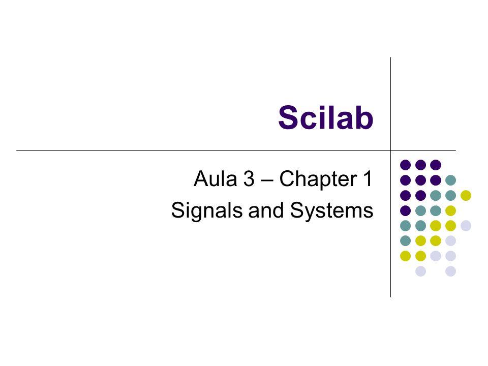 Solução de sistemas lineares Para resolver um sistema linear utilizamos a seguinte fórmula: X = inv(A) * B (admitindo que A possui inversa) Onde AX = B