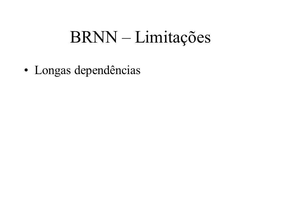 BRNN – Limitações Longas dependências