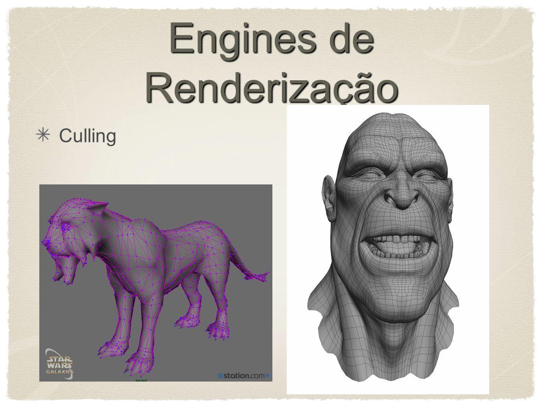 Engines de Renderização Culling