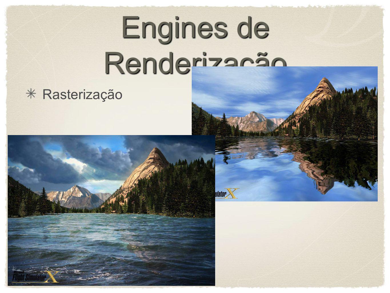 Engines de Renderização Rasterização