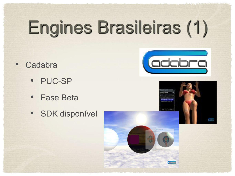 Engines Brasileiras (1) Cadabra PUC-SP Fase Beta SDK disponível
