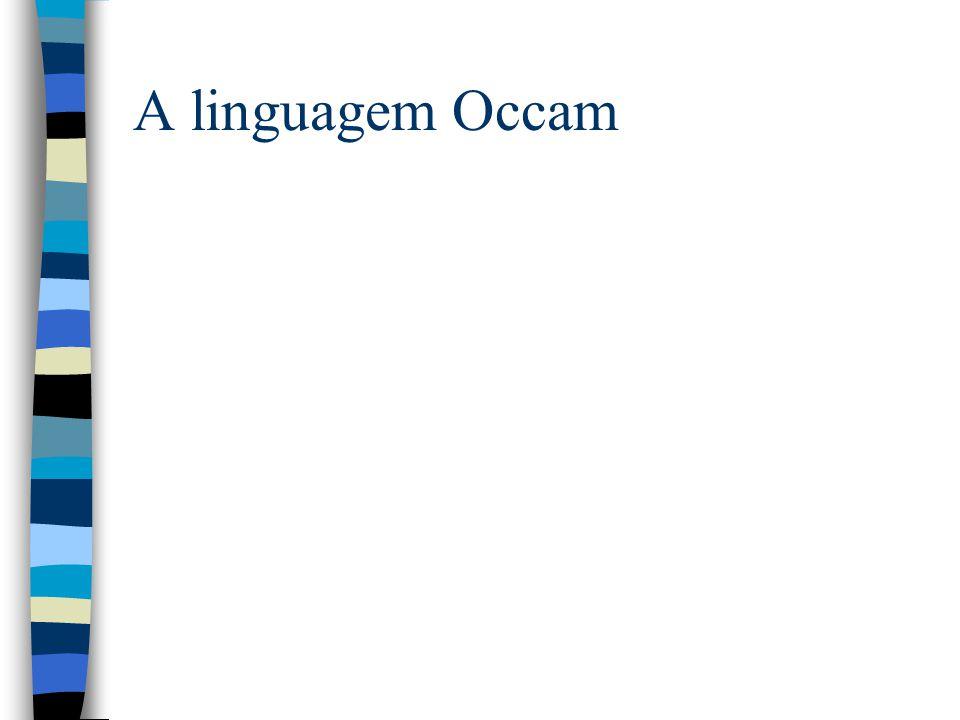 A linguagem Occam