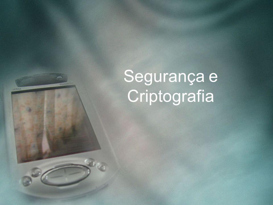 Segurança e Criptografia
