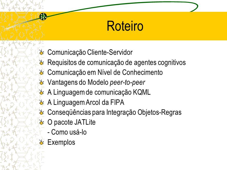 Comunicação entre Agentes em Ambientes Distribuídos: O Modelo peer-to-peer Prof. Fred Freitas – fred.freitas@tci.ufal.br Mestrado em Informática Unive