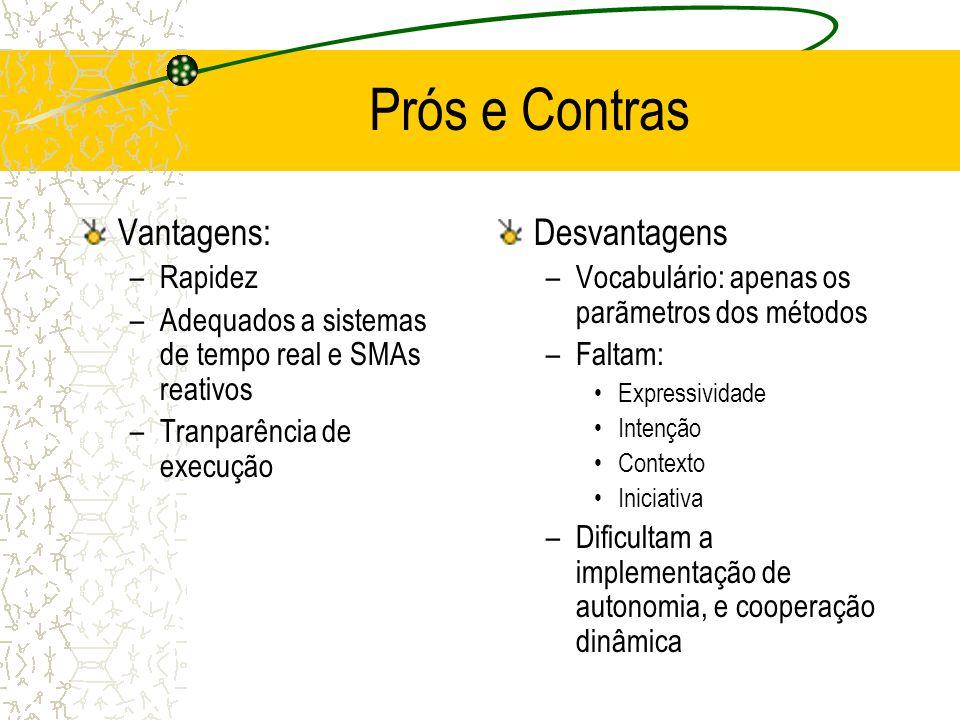 O Modelo de Comunicação Cliente-Servidor Os servidores provêem os serviços, os clientes os usam –mestre-escravo Os serviços estão acessíveis via RPCs