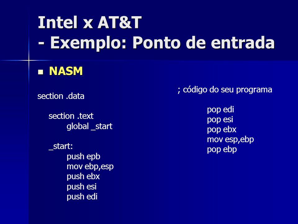 Linux Man Pages - Organização típica 1.General Commands 2.