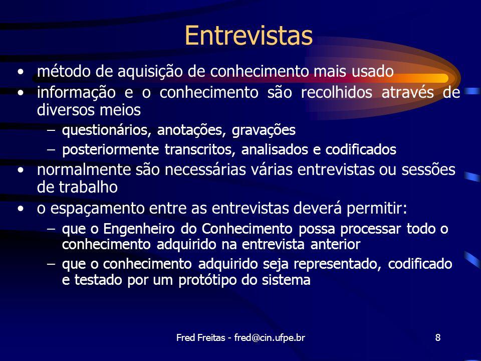 Fred Freitas - fred@cin.ufpe.br29 Rastreamento © York Sure
