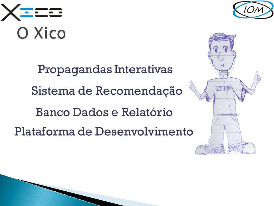 Propagandas Interativas Sistema de Recomendação Banco Dados e Relatório Plataforma de Desenvolvimento