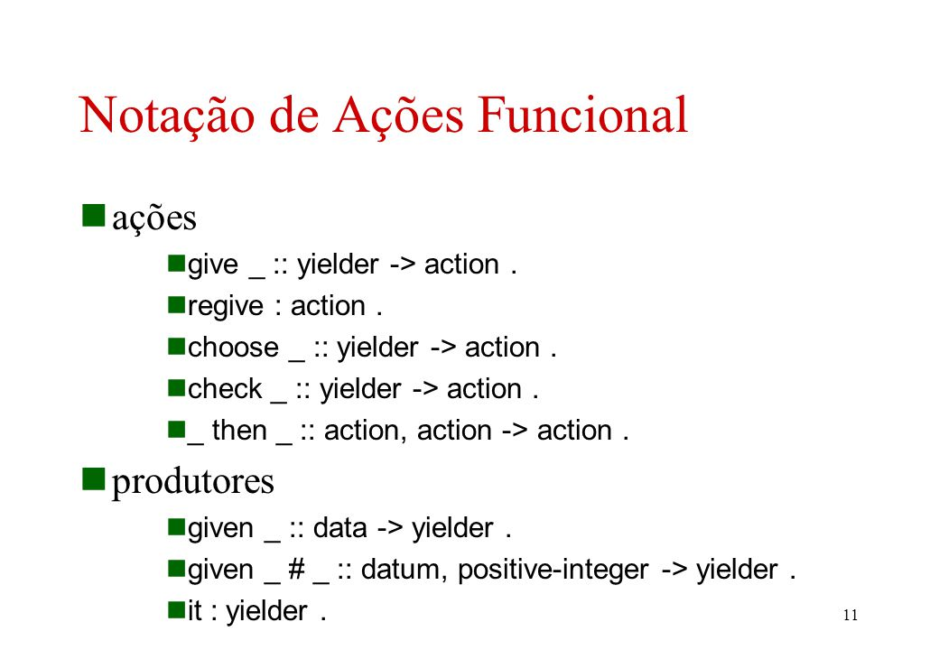 (3) … (4) execute [[ C 1 :Comando ; C 2 :Comando ]] = execute C 1 and then execute C 2.