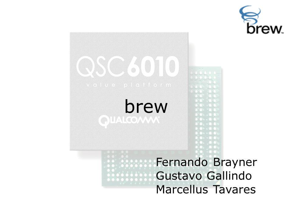 brew Fernando Brayner Gustavo Gallindo Marcellus Tavares