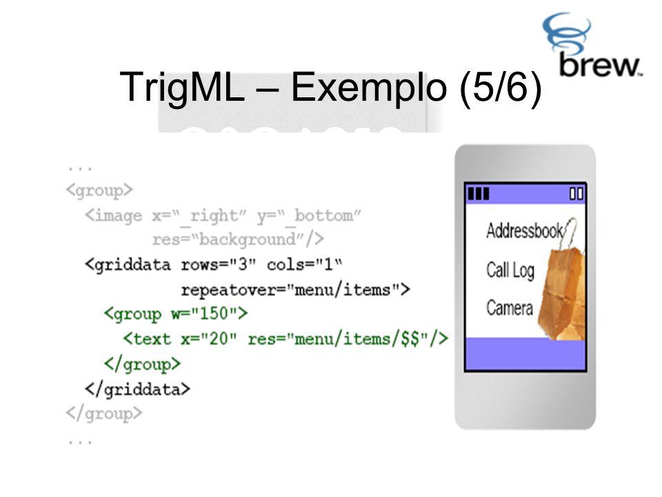 TrigML – Exemplo (5/6)