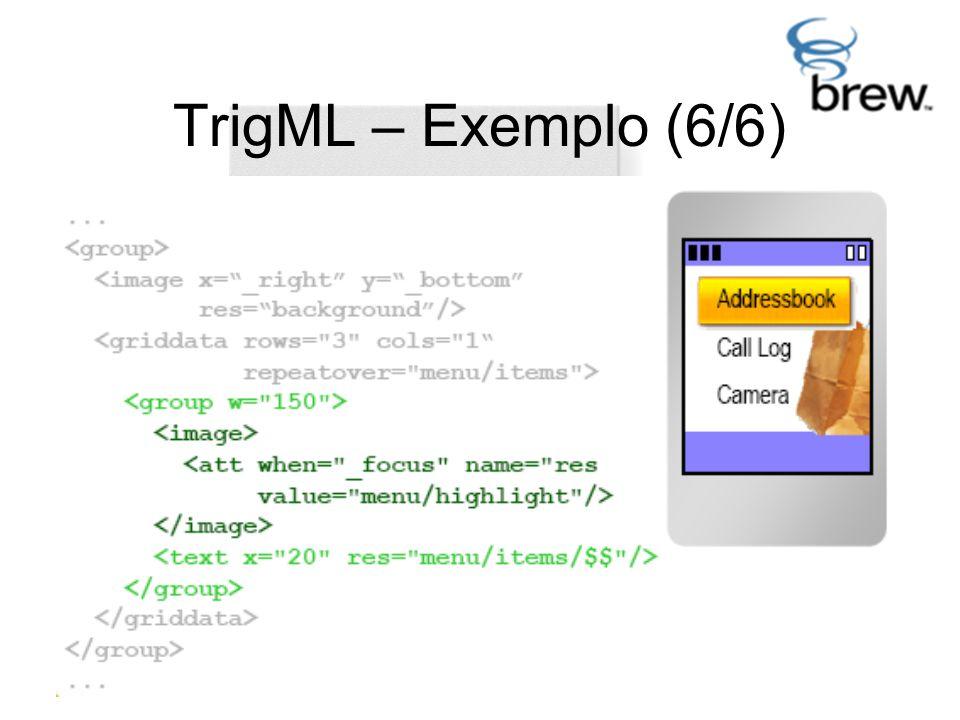 TrigML – Exemplo (6/6)
