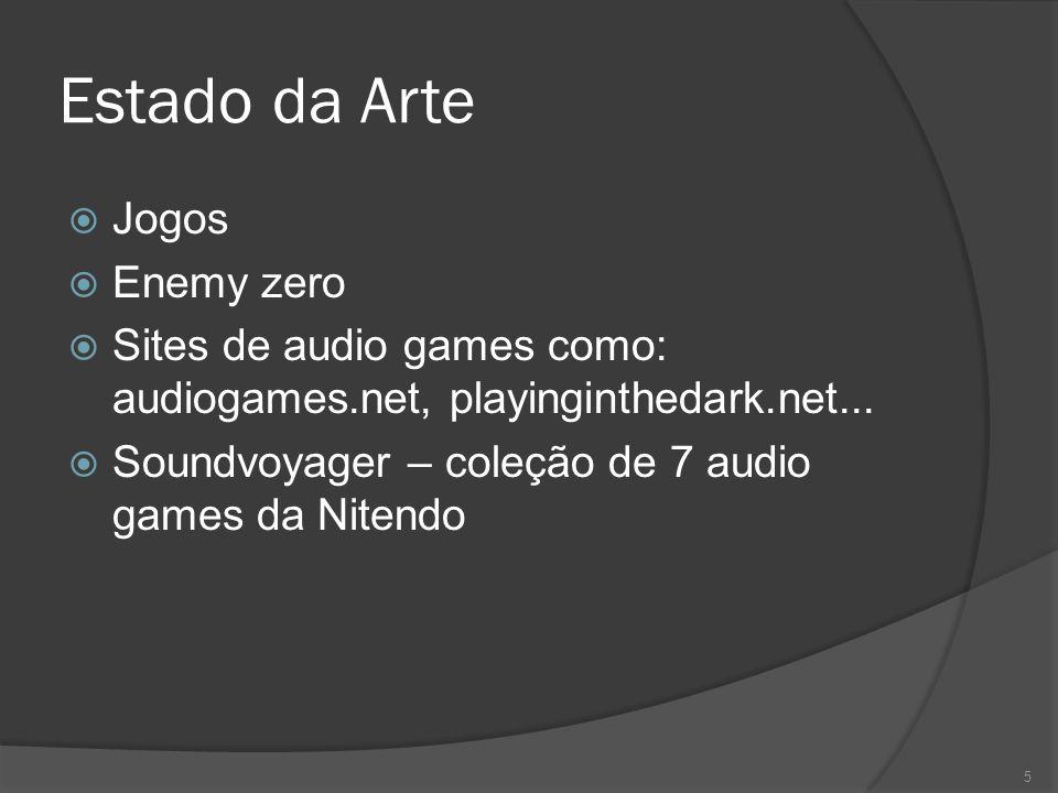 Descrição  O jogador incorpora  A idéia é que as ações do jogador sejam de acordo com o som escutado  Um feedback visual básico é apresentado 6