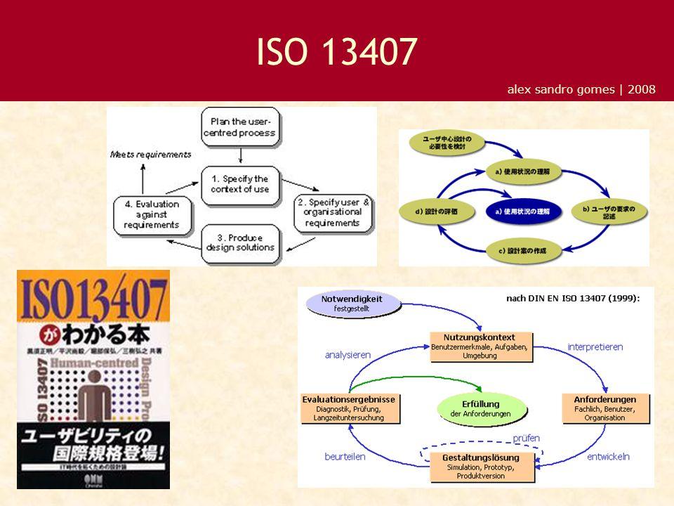 alex sandro gomes | 2008 ISO 13407