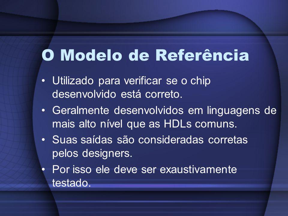 O Modelo de Referência Utilizado para verificar se o chip desenvolvido está correto.